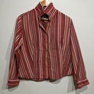 Columbia |Striped Button Up